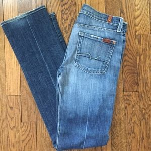7 for All Mankind straight leg size 28